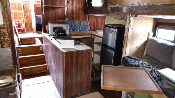 60' Samson hull cabin