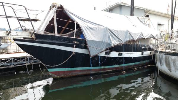 60' Samson hull port