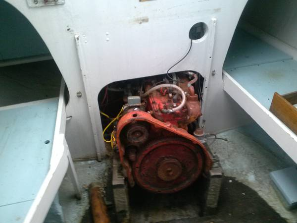1965 Cascade 29. engine