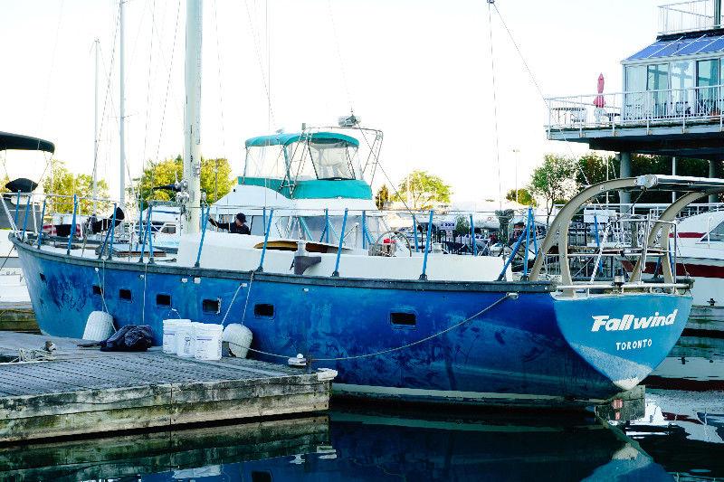 Hartley Fijian 43 bluewater live aboard
