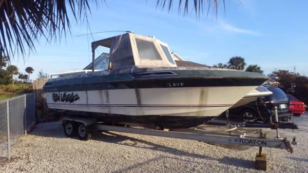 21' bowrider hull