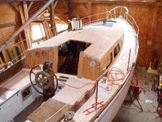 36 Cascade on deck