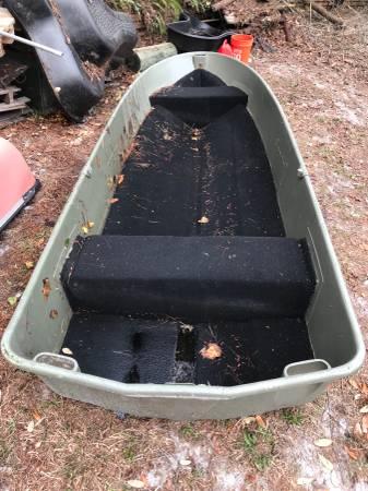 12 foot John Boat stern