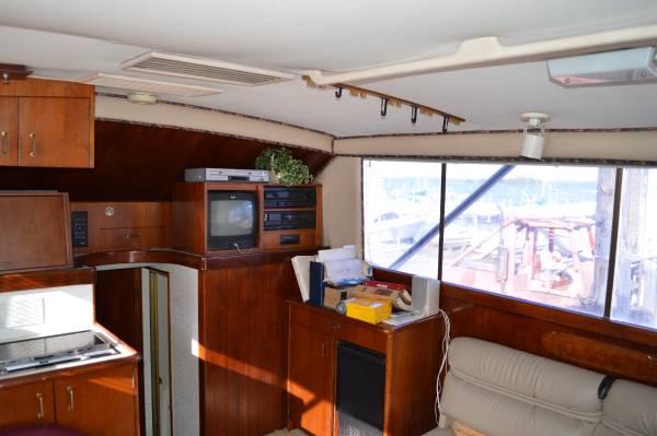 1988 Ocean Super sport interior