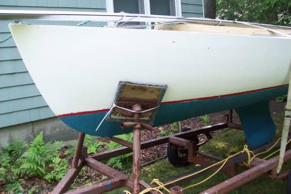 1960's era Cape Cod Mercury sailboat