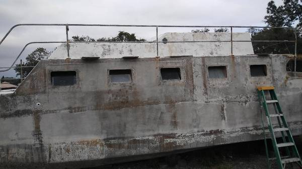Liveaboard catamaran cruiser  portlight view