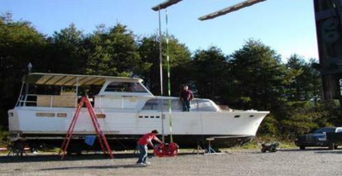 1963 Stephens Flush Deck Cruiser