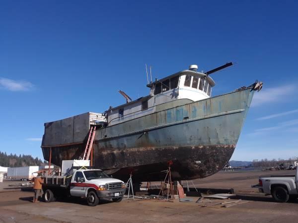 1966 steel trawler 70