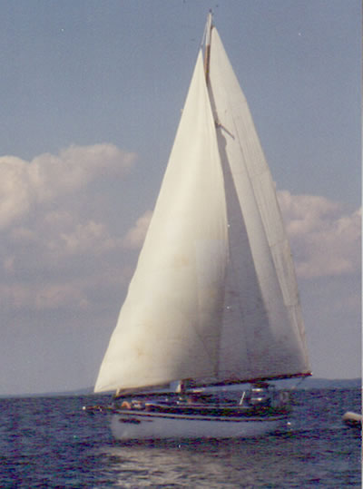 1939 Casey 41 Auxiliary Cutter Used Classic Wooden Boat