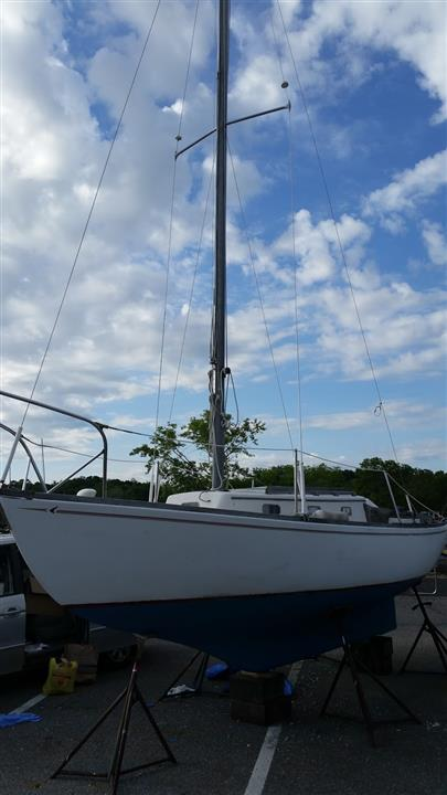 Seafarer 23 Port Bow