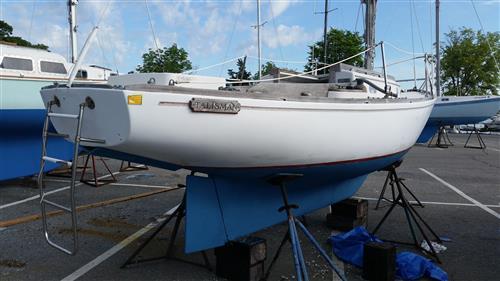 Talisman side stern 23 Seafarer