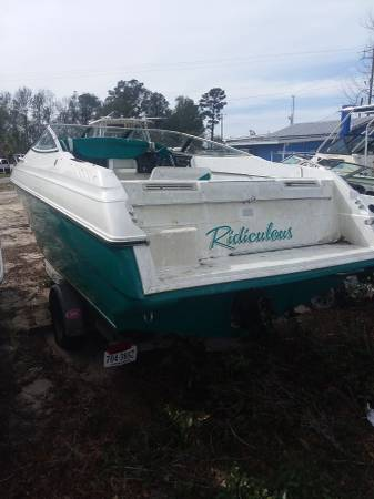 23ft welcraft stern view