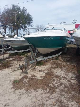 23ft welcraft bow view