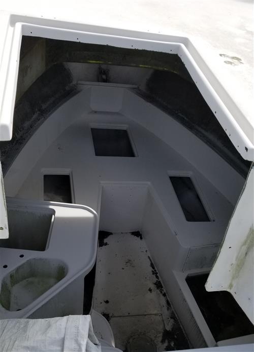 1991 25' Grady White Hull cabin