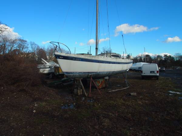 Columbia 26 Sail Boat standing rig