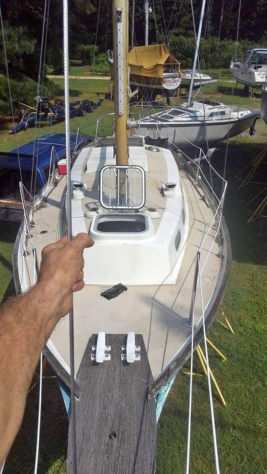 31 ft Nantucket Clipper