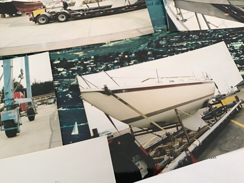 32 ft Erickson 1977 picture collage