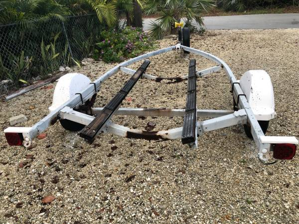 Boat Trailer for free from back