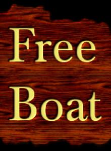 free-boat.com wide logo