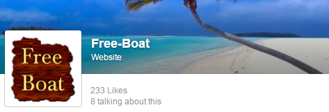 Free-boat on Facebook