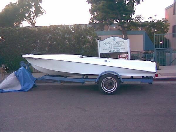 1961 Bristol Speedboat