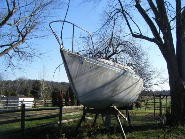 Free sailboat no trailer