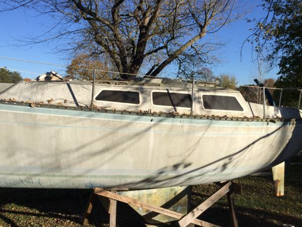 cleaning house free sailboat