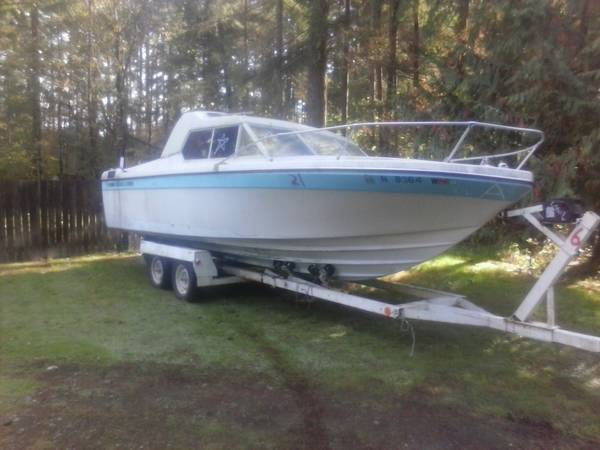 25ft reinell project boat