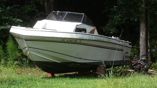 Free powerboat hull Savannah