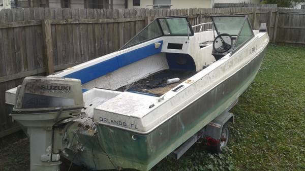 Free 18' project boat