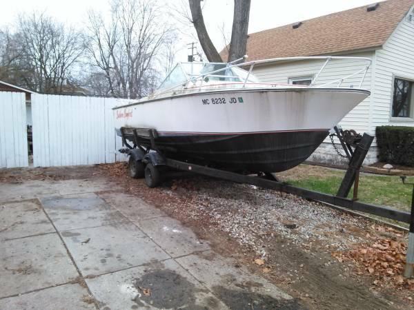 FREE 1975 22 foot scat craft boat