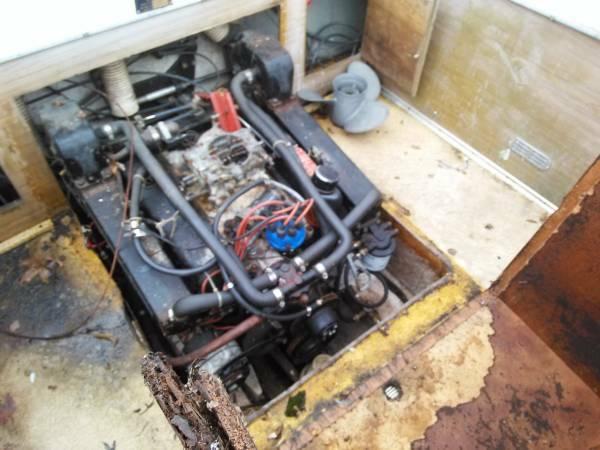22 scat craft engine 302 Mercruiser