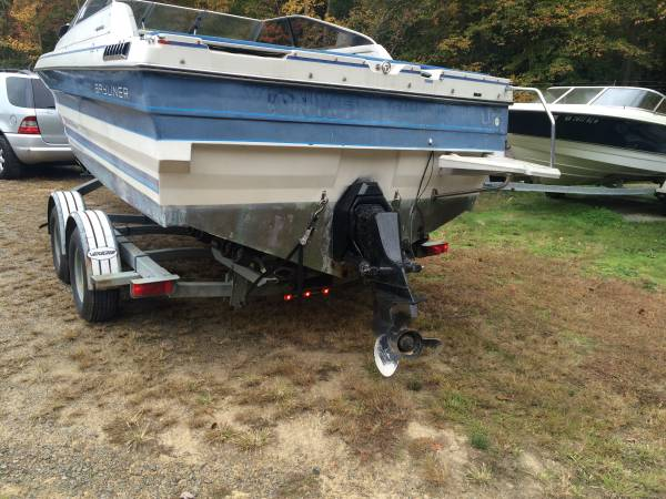 1990 bayliner boat stern good condition
