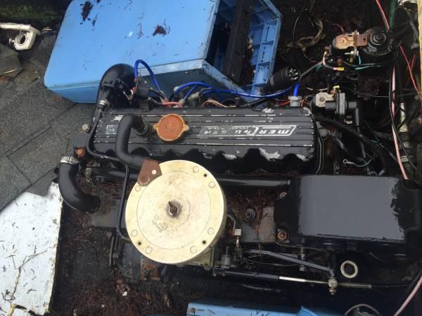 mercury motor in Free boat hull needs work