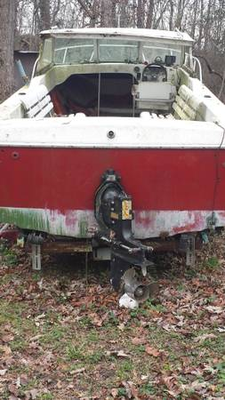 free 18' day boat with engine
