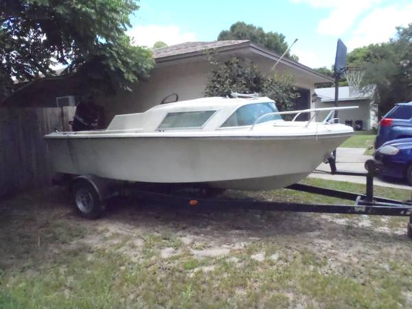 1965 boat with title, FREE