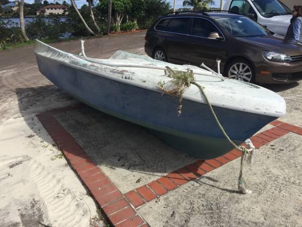 take it away free boat hull