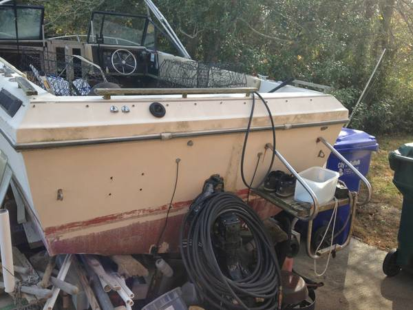 free boat and trailer need it gone