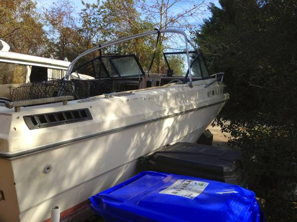 free boat and trailer port side