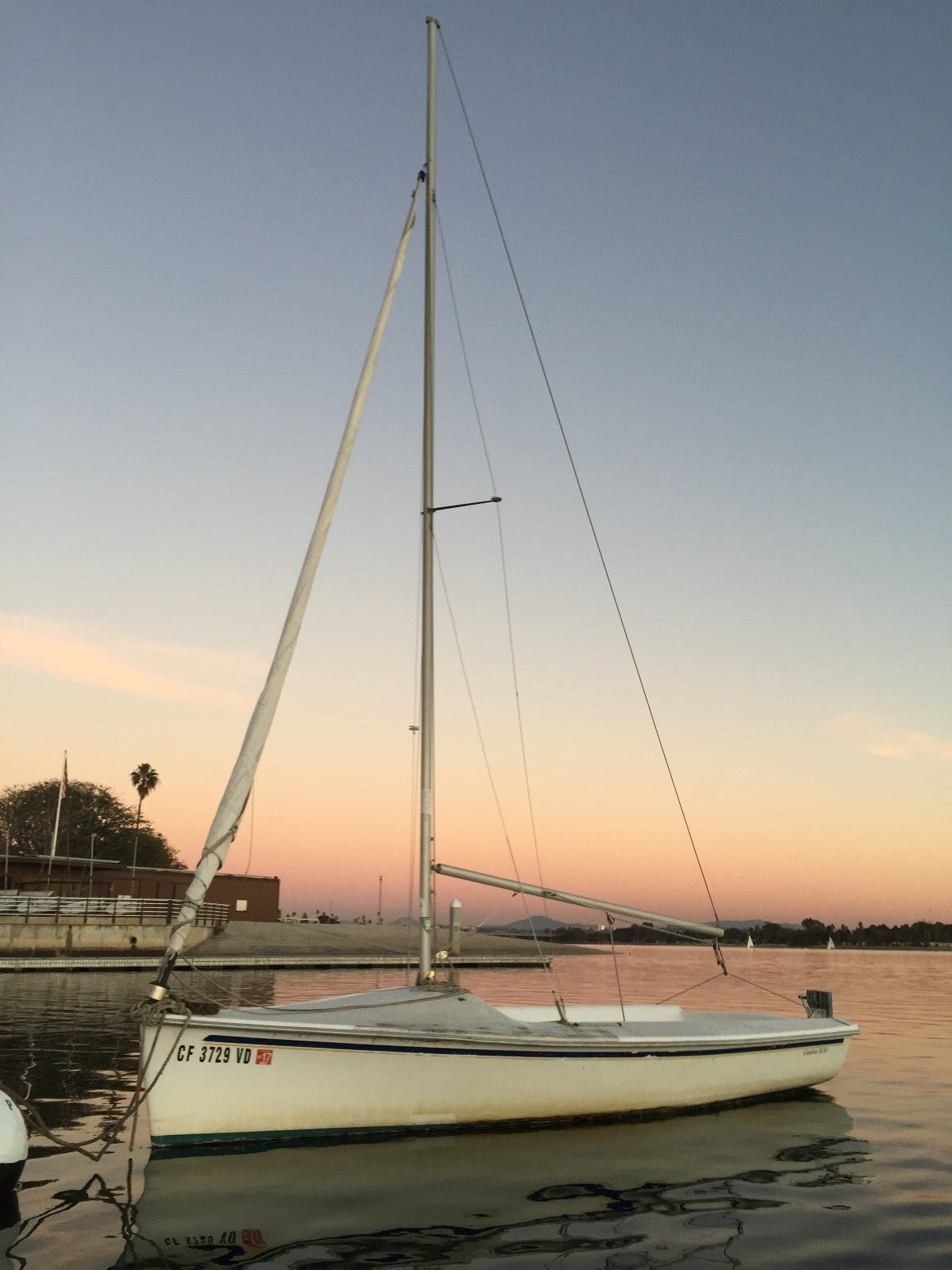 2001 Catalina sailboat