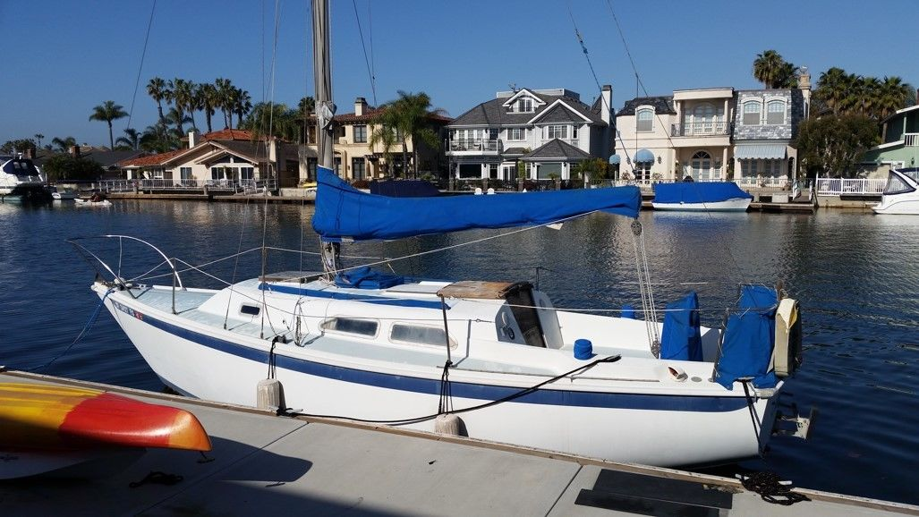 1975 Ericson sailboat bid