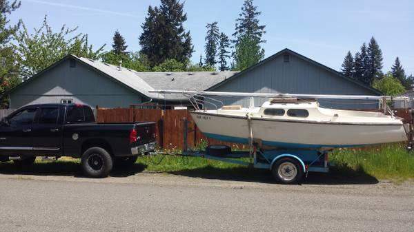 1963 19' Alacrity twin keel (Portorchard WA) - Free-Boat com