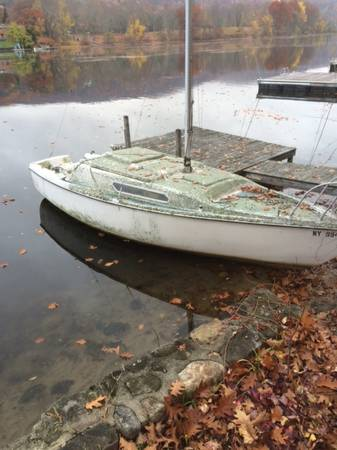 free 21 ft sailboat w retractable keel