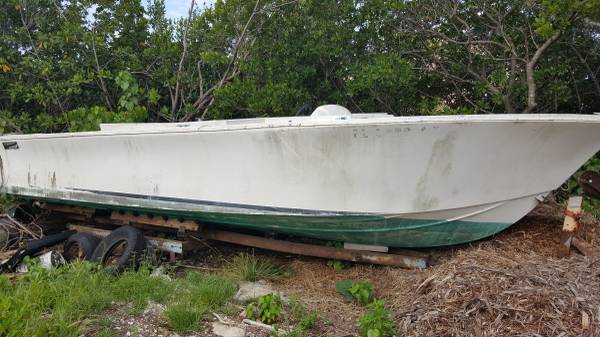 Free Boat Hull float away
