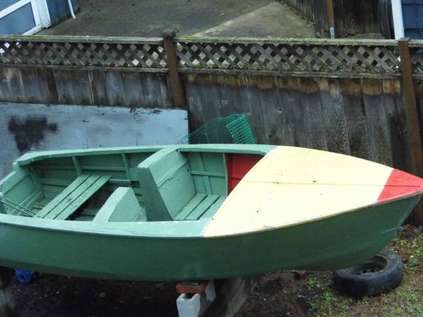 wood fishing boat small