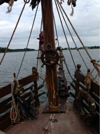 Pirate Ship foredeck