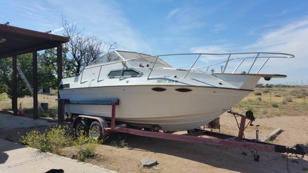 22 cabin cruiser no trailer