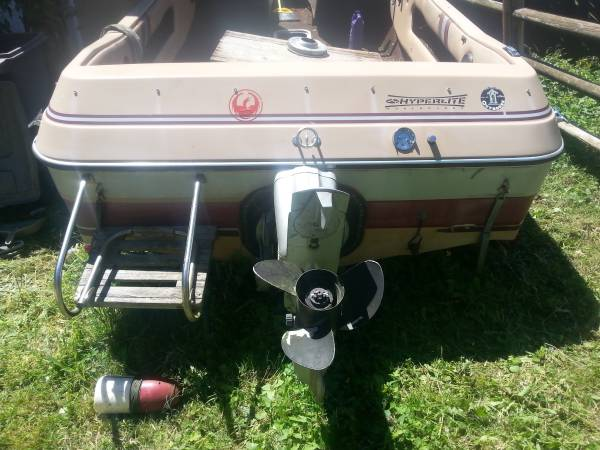 FREE 1986 REINELL 170M SKI BOAT AND TRAILER