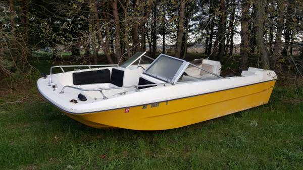 16ft 9 in powerboat project