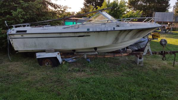 Boat and trailer for free